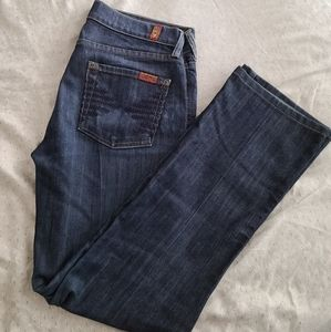 7 For Man Kind Kimmie Jeans